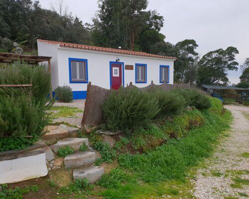 Moradias na encosta de Monsaraz, Alentejo