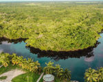 Rare 62.84 Acre Island on the New River in Orange Walk Town