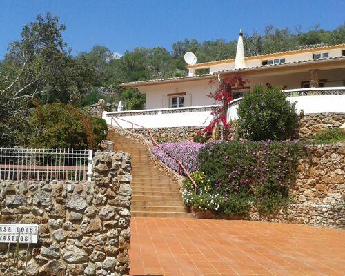 2 + 3 bedroom villa with SEA VIEW and private pool,  Messines de Cima, Algarve
