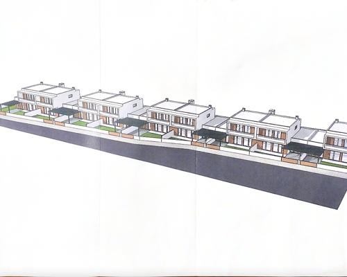 Lote de terreno para construção de moradia unifamiliar em banda a 600 metros da praia de Monte Gordo