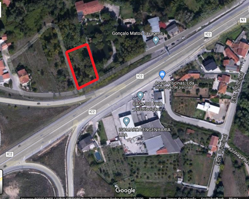Urban plot in Coimbra with 1.460 m2