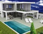 Plot of land with approved project for 3 bedroom villa with basement and swimming pool