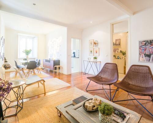 Appartement de 3 chambres entièrement rénové et décoré