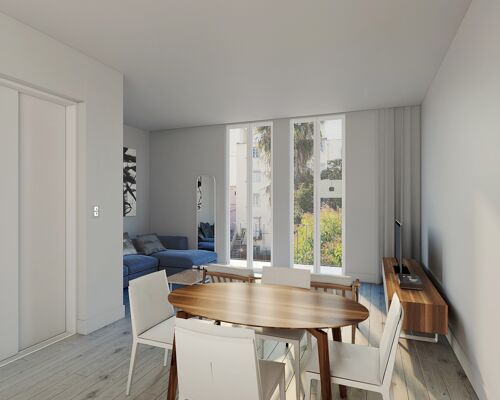 3 bedroom flat in the centre of Lisbon