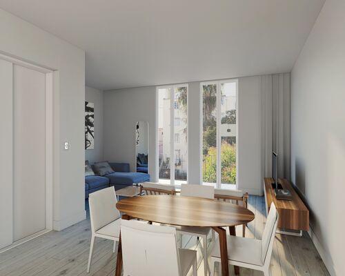 Appartement 3 pièces au centre de Lisbonne