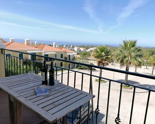 One bedroom apartment with SEA VIEW in condominium with pools and tennis court